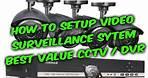 How to setup video surveillance CCTV DVR system guide, Annke 8ch camera DVR review