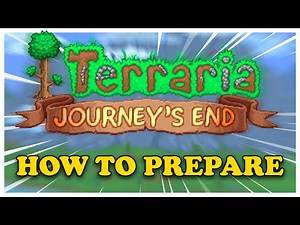 How to Prepare for Terraria 1.4
