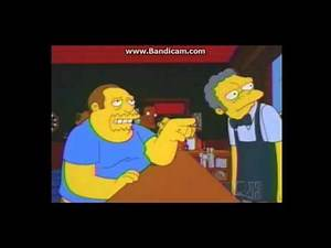 When Comic Book Guy Goes To Moe's