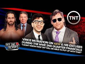 """Vince McMahon On AEW: """"I DON'T KNOW HOW TNT WILL PUT UP WITH THAT"""" 