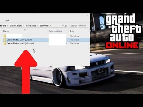 GTA 5 - How To Play GTA Online With Mods Installed (PC)