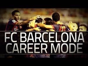 FIFA 14: Barcelona Career Mode - S1E3 - CUSTOM TACTICS!