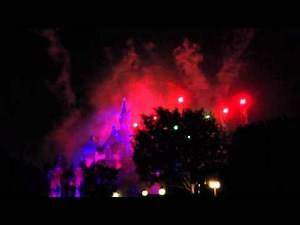 Disneyland Fireworks Fail