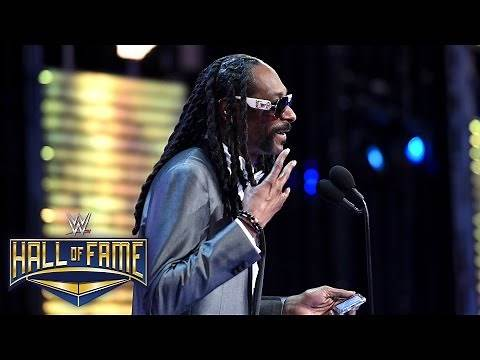 Snoop Dogg reacts to taking his place in the Celebrity Wing: WWE Hall of Fame 2016 on WWE Network