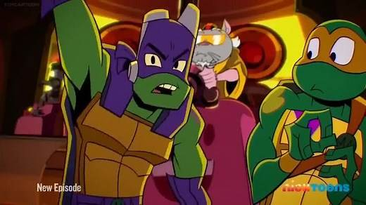 Rise of the Teenage Mutant Ninja Turtles Episode 34 – The Purple Game
