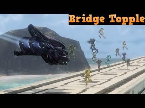 Halo 4 Custom game : Bridge Topple