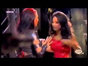 Impact Wrestling 10/04/12 Tara & Gail Kim Backstage