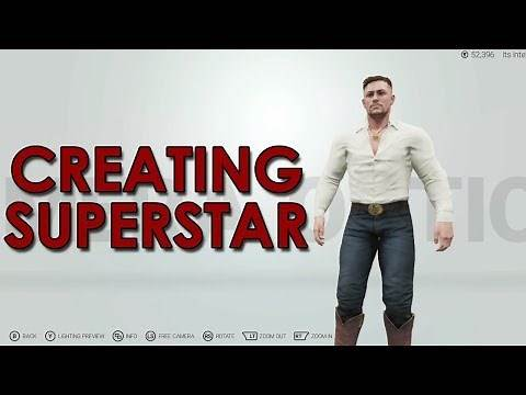 WWE 2K19 Create a Superstar: Dallas Magnum!