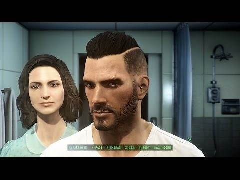Fallout 4: How to make a smokin' hot, handsome male character