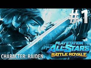 Playstation All-Stars Battle Royale - Online Tournament #2 - Raiden