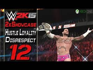 WWE 2K15 - 2K Showcase Hustle Loyalty Disrespect #12 - Triple Threat