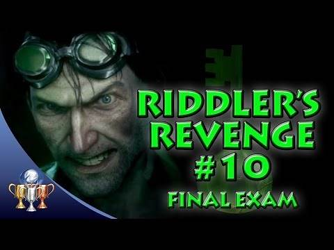 Batman Arkham Knight - Riddler's Revenge Quest Trial (10/10) Final Exam