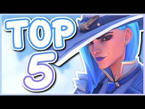 Overwatch - TOP 5 BEST ASHE SKINS