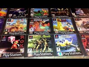 A Complete Phoenix Games PS1 Collection and Price Guide