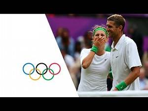 Azarenka & Mirnyi Defeat Robson & Murray - Tennis Mixed Doubles Final | London 2012 Olympics