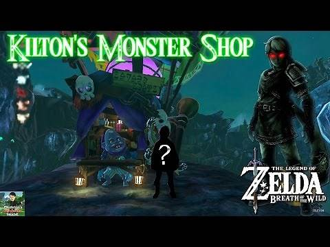 Zelda Breath of the Wild - Kilton Monster Shop Location (How to Get Dark Link Tunic)!