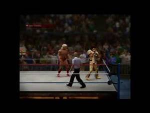 Macho Man Randy Savage vs Nature Boy Ric Flair - WrestleMania VIII WWE 2K14