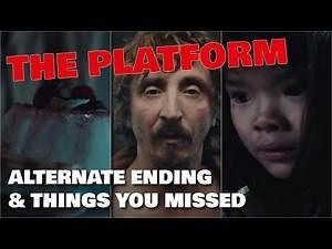THE PLATFORM (2020) ALTERNATE ENDING & Hidden Things You Missed [Ending Explained]
