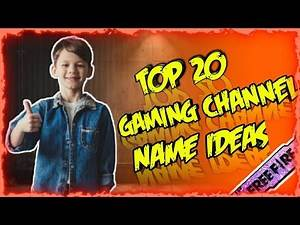 Top 20 Unique Gaming Channel Name Ideas 2020 (Untaken) || For Beginner YouTuber || Darkness Gaming