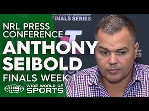 Anthony Seibold answers tough questions after Broncos embarrassing finals exit   NRL on Nine