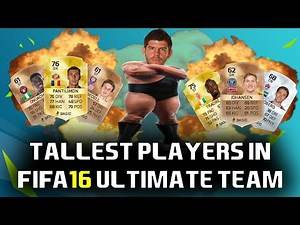 Tallest Players In FIFA 16 | Top 10 | FIFA GIANTS