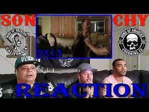 """SONS OF ANARCHY SEASON 2 EPISODE 13 REACTION """"NA TRIOBLIDI"""" PT 1"""
