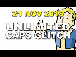 Unlimited Caps Glitch Working 21 November 2018 for Fallout 4