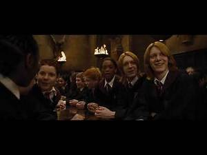 Hogwarts welcome guests - Harry Potter and the Goblet of Fire