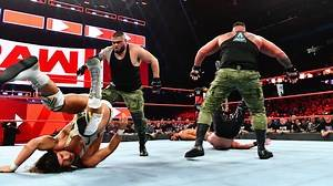 WWE Raw - AOP attack Roode, Gable & The Ascension, Raw: 10/8/18