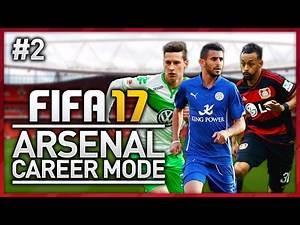 FIRST GAMES! ARSENAL CAREER MODE - EPISODE #2 (FIFA 17)