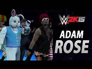 WWE 2K15 DLC: Adam Rose Entrance, Signatures, Finishers & Winning Animation!