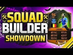 FIFA 17 SQUAD BUILDER SHOWDOWN!!! 94 RATED LUKAKU!!! Upgraded Scream Lukaku Squad Duel