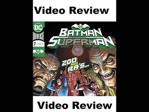DC Comics Review: Batman/Superman #7