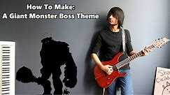 How To: Make a Giant Monster Boss Theme in 5 Minutes || Shady Cicada