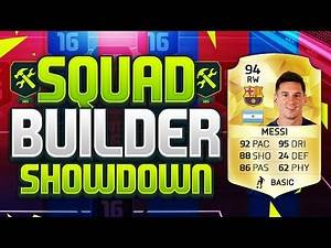FIFA 16 SQUAD BUILDER SHOWDOWN!!! LIONEL MESSI!!! The Highest Rated Player On Fifa 16