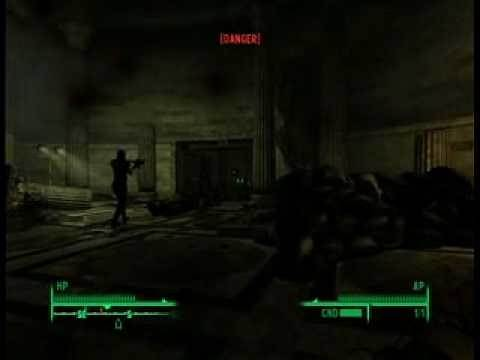 Fallout 3 - Stealing the Declaration of Independence Quest Part 2/5 (XBox 360 Version)