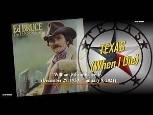 Ed Bruce -Texas When I Die (1977)