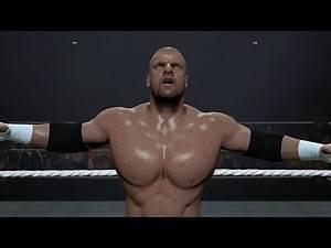 WWE 2K16 - Triple H (Entrance, Signature, Finisher)