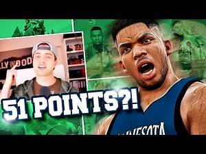 NBA 2K17 Timberwolves MyGM #1 - WE ARE DONE BEING AVERAGE! 51 POINTS FOR KAT?!