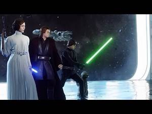 Battlefront 2   Awesome Heroes Vs Villains Match   Leia Gameplay