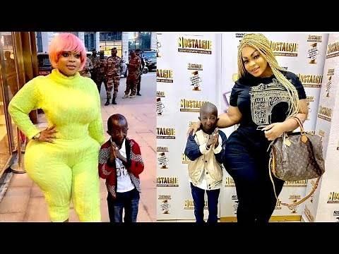 Meet Dwarf Billionaire Grand P Who Married An Oversized Curvy Woman