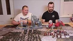 Orks vs Blood Angels - ITC - Warhammer 40k 8th Edition Battle Report