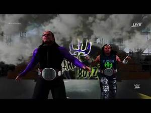 WWE 2K18 ► The Hardy Boyz (Official Entrance) With RAW Tag Team Championships