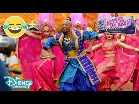 Access All Areas | Aladdin - Dance Like a Genie 🧞♂️ | Disney Channel UK