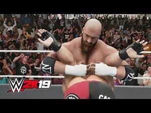 WWE 2K19 - Triple H PEDIGREE Compilation!