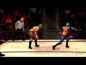 """Lucha Underground 1/7/15: """"Aztec Warfare"""" - Drago, Cuerno, Fenix, Ivelisse, Mundo"""