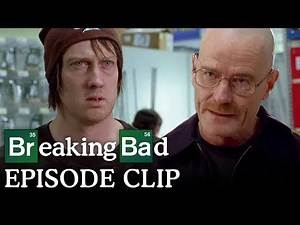 Walter White Tries to Help a Fellow Shopper - Breaking Bad: S2 E10 Clip