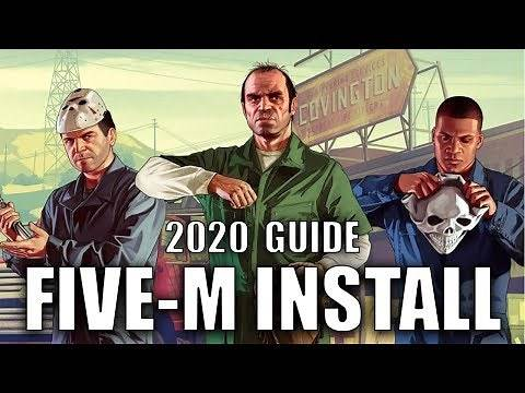 How To Install FiveM | 2020 Guide (GTA 5 Roleplay)