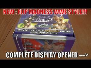 BRAND NEW! ☆ WWE FLIP MADNESS ☆ COMPLETE DISPLAY UNBOXING
