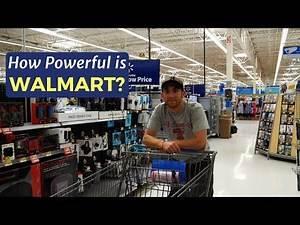 How Powerful is WALMART?